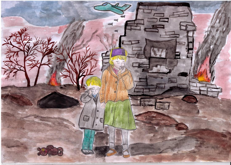 Конкурсы рисунков о войне для детей